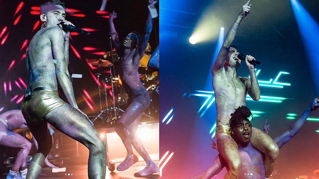 Years & Years-zanger Olly gaat voor glitters